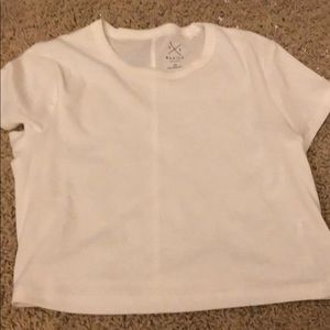 White pacsun basic shirt